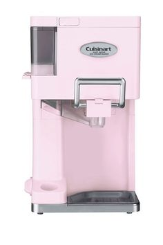 Pink Soft Serve Ice Cream Maker.