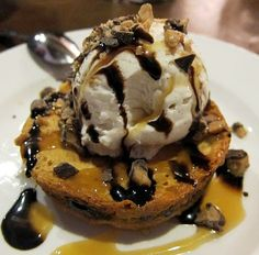Ooey Gooey Toffee Cake Recipe served at Liberty Tree Tavern in Magic Kingdom at Disney World