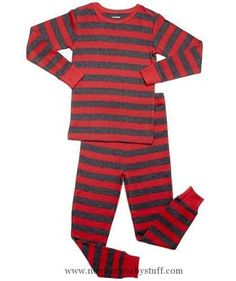 71aaadddef2 Baby Girl Clothes Striped 2 Piece Pajama Set 100% Cotton (4 Toddler