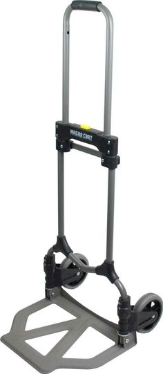 Use the Magna Cart Hand Truck whenever you have boxes that need moving, and when you're done you can just fold it up and tuck it away.