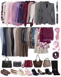 A jól szervezett ruhatár átlátható