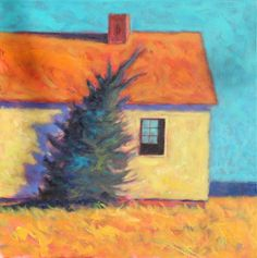 """""""Sea Cottage"""" Available, 24 x 24"""