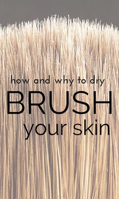 Get your most amazingly smooth and glowing skin with dry brushing! Learn here why you should consider it a regular beauty and health habit and why it is one of the easiest, cheapest and most effective routines to promote healthy skin and body. Beauty Secrets, Beauty Hacks, Beauty Tips, Diy Beauty, Beauty Tutorials, Homemade Beauty, Beauty Products, Dry Brushing Skin, Dry Brush Technique