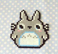 Totoro hama perler beads