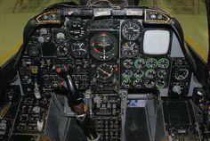 Cockpit - Fairchild A-10A Thunderbolt II
