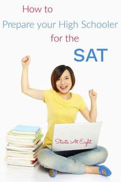 How to Prepare for the SAT Test is an important question to have answered as your child enters high school. Get all the ins & outs and study resources here! High School Curriculum, Homeschool Curriculum, Homeschooling, National Merit Scholarship Program, Sat Math, Good Introduction, High School Years, Sats, High School Graduation