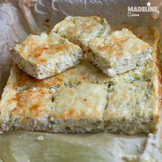 Budinca de dovlecei / Zucchini casserole - Madeline's Cuisine Baby Food Recipes, Healthy Recipes, Antipasto, Mozzarella, Zucchini Casserole, Yogurt, Buffet, Keto, Bread