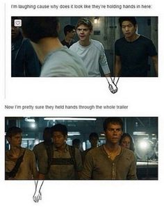 This makes me feel want to cry and laugh at the same time <-mostly cause I ship newtmas though