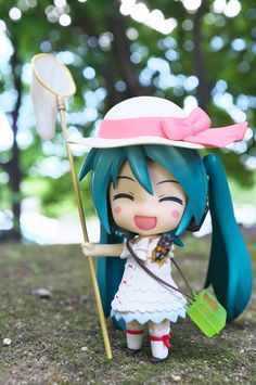 Summer Vacation by reonov #Hatsue Miku #vocaloid #figure 初音ミク ボーカロイド フィギュア