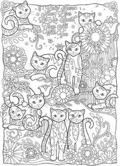 målarbilder, målarbild, gratis målarbilder, gratis målarbild, målarbok, målarböcker, målarbok för vuxna, målarböcker för vuxna, zentangle, mandala, mindfulness, måla, färglägga, mindfullness, doodle, bättre hälsa, bra hälsa, katt, kattbilder, målarbilder med katter, bilder på katter, citat