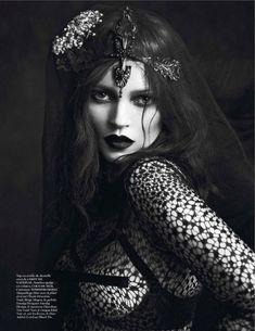 Kate Moss & Saskia de Brauw   Mert & Marcus   Vogue Paris September 2012