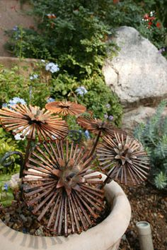 Consider adding pieces of art sculpture in the garden to give added interest.