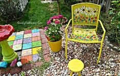 30 Fun Way To Brighten Up Your Backyard This Summer - DIY Gartendekor Dollar speichert