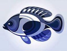 Resultado de imagen para pez geometrizado