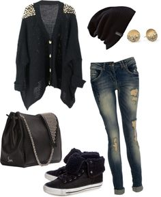"""Glam Punk"" by hollynn on Polyvore"