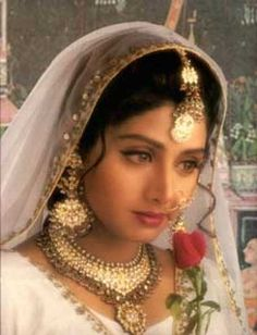 before there was aishwarya, sridevi was the queen of bollywood. such a classic beauty with true charisma and talent.