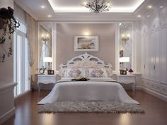 31 Several Ideas to Glam Your Bedroom – Design Kaktus - Schlafzimmer Luxury Bedroom Design, Bedroom Bed Design, Home Decor Bedroom, Budget Bedroom, Bedroom Modern, Contemporary Bedroom, Bedroom Furniture, Bedroom Ideas, Suites