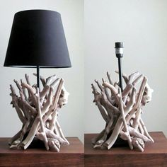 Introducing a new addition to our line, a driftwood sculpture lamps! www.driftingconcepts.com