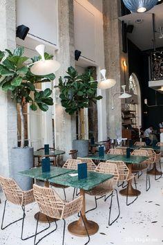 Alexandre Giesbert et Julien Ross, restaurant Daroco, Paris Restaurant Interior Design, Commercial Interior Design, Modern Interior Design, Design Hotel, Design Interiors, Modern Interiors, Luxury Interior, Interior Architecture, Harmony Design