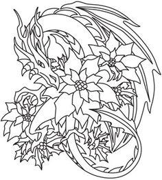 Christmas Magic Dragon design (UTH5467) from UrbanThreads.com