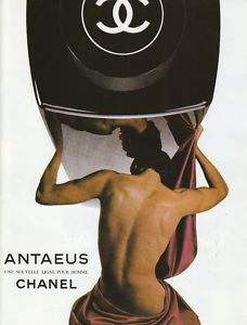 puissant, profond Publicité Parfum Antaeus - CHANEL, 1980
