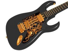 Original Customized Guitar With Cogs And Gears Stock Photo ...
