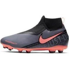 Nike Phantom Vision Academy Dynamic Fit TF Volt Black ab