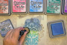 More Distress Oxide Ink Techniques with Heather Tracy for The Graphics Fairy! These are great for Mixed Media Projects, Collage, Card Making and more! Distress Markers, Tim Holtz Distress Ink, Distress Oxide Ink, Alcohol Markers, Alcohol Inks, Distress Ink Techniques, Gelli Printing, Graphics Fairy, Distressed Painting
