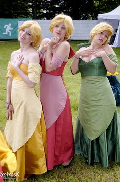 (Awesome) Beauty and the Beast Gaston group cosplay, AnimagiC 2012 by SpirosK photography, via Flickr