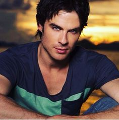 The Vampire Diaries ... Ian Somerhalder as Damon Salvatore