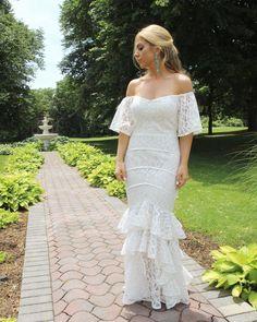 Gorgeous Bride in our Moments Later Dress #weddings #bridetobe #bridesmaids #weddingfashion #bridalshower