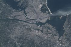 """Inspiring is not the word for this awful photograph, but I didn't know where else to put it. From """"The Top 75 'Pictures of the Day' for 2012,"""" this is: """"69. THE ONLY AMERICAN NOT ON EARTH ON SEPT 11"""" -- Photo by NASA"""