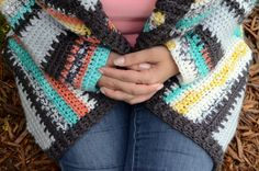 Painted Canyon Cardigan Sleeves