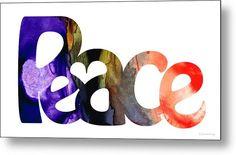 #peace #peacesigns by Sharon Cummings, peaceful artist.