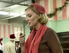 "Behind the scenes of ""Carol"" - #cateblanchett #carol #carolmovie #carolaird #behindthescenes #movie"