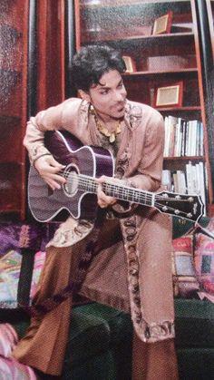 Prince entertaing
