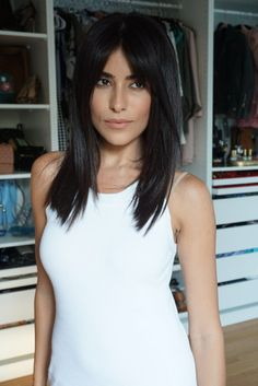 sazan hair, haircut, bangs, fall trends, hair trends, blogger, beauty, lee rittiner, straight hairstyles, hairstyles for, how to, style, tips, beauty,…