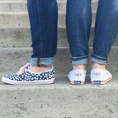 We're mad for monograms. #kedsstyle