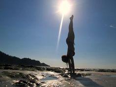 """Yoga Poses Around the World: """"Sunshine Playtime! in Nosara, Costa Rica"""""""