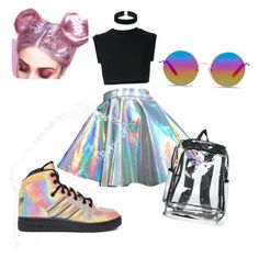 """Zenon"" by pandapoptrot on Polyvore featuring adidas, adidas Originals, ASOS and Matthew Williamson"