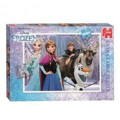 Disney Frozen Puzzel, 100st. XXL