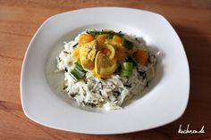 Chicken-Curry mit Mandarinen