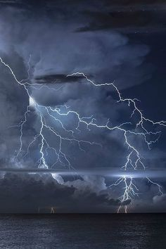Beautiful Lightning Storm