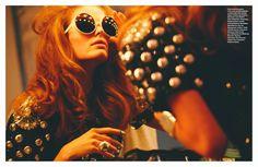 Numéro #156 September 2014 Swinging London Photographer: Greg Kadel Stylist: Elizabeth Sulcer