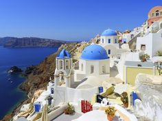 Santorini Greece is a famous honeymoon destination. There are 10 things you must do in Santorini if you are there on your honeymoon. Beautiful Places In The World, Places Around The World, The Places Youll Go, Places To See, Amazing Places, Amazing Things, Amazing Art, Honeymoon Island, Best Honeymoon