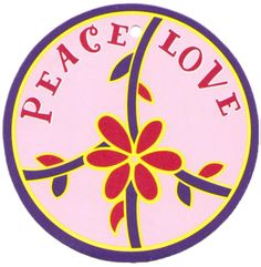 ☮ American Hippie Psychedelic Art ~ Peace & Love .. Peace Sign