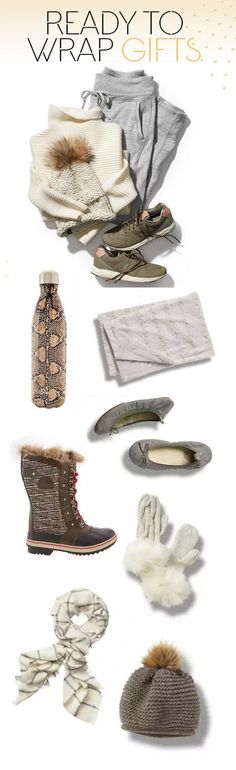 Handpicked gifts, selected and put together by Athleta's team of stylists. Just add wrapping paper!!
