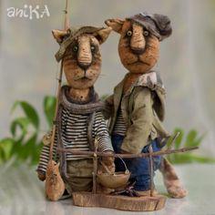 мишаники от аники: Рыбаки