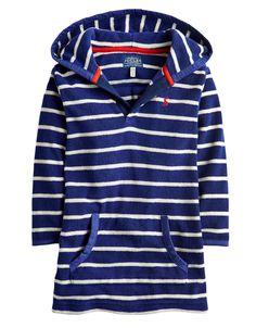 #Joules - Kapuzenbadetuch für Jungen - € 29,95 - Wikimo Kindermode, blau gestreift by Tom Joule