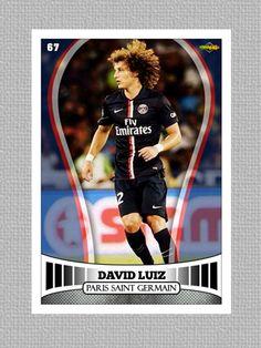 Tarjeta David Luiz PSG